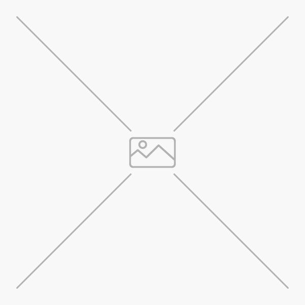 Muovinen kannellinen laatikko lujilla sulkijoilla. Laatikon mitat ovat 21x17x11 cm.