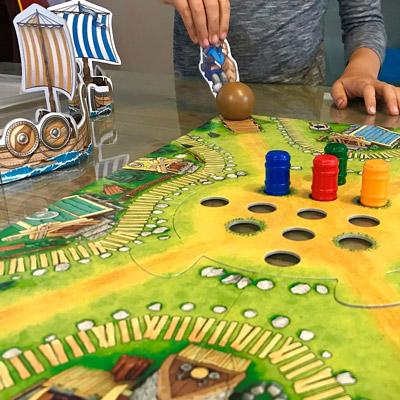 HABA Viikinkien laakso pelitestissä